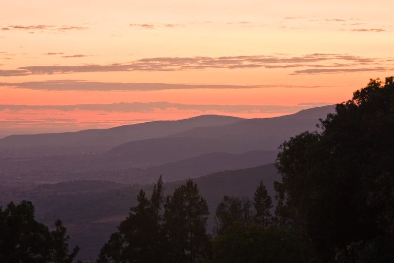 Tramonto in Swaziland